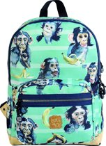 Pick & Pack Chimpanze - Rugzak - Turquoise