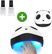 Manicure & Pedicure nagel droger + Top & Base Coat | 36W UV LED Lamp