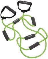 Schildkröt Fitness - Weerstandband Tubing 3 Set - Thermoplastic - Groen