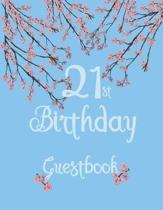21st Birthday Guestbook