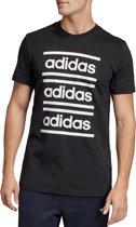 adidas Celebrate the 90s Tee EI5572, Mannen, Zwart, T-shirt maat: S EU