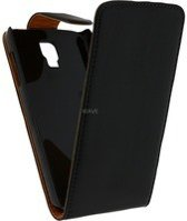 Xccess Leather Flip Case Samsung I9295 Galaxy S4 Active Black