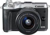Canon EOS M6 + 15-45mm - Zilver