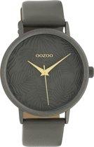 OOZOO Timepieces Grijs horloge  (42 mm) - Grijs