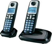 Grundig D210 - Duo DECT telefoon - Zwart