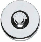 Intersteel - Beldrukker - verdekt kunststof - chroom - 0016.399027