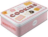 Tin box flat - Wonder cookies