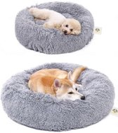 hondenmand- Slaapbed van pluche- Kattenmand - Donu