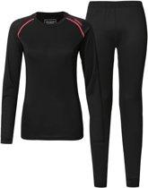 Tenson Thermoset - Maat 42  - Vrouwen - zwart/roze