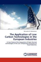 The Application of Low Carbon Technologies in the European Industries