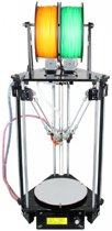 Delta Rostock mini G2S Pro - dual extruder - Zelfbouw 3D printer met heated bed + auto level