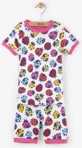 Hatley 2-delige korte pyjama Ladybirds - 104
