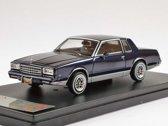 Chevrolet Monte Carlo 1981 Donkerblauw 1:43 PremiumX