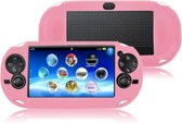 Silicone Bescherm Hoes Skin voor Playstation - PS Vita Roze