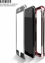 Full protection Xundd armor / shockproof 2 in 1 bumper hoesje    iPhone 7 4,7   Rose Goud