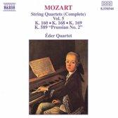 Mozart: String Quartets Complete Vol 5 / eder Quartet