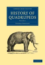 History of Quadrupeds 2 Volume Paperback Set History of Quadrupeds