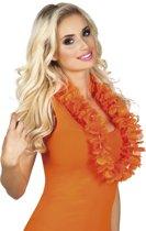 48 stuks: Hawaikrans Oranje