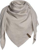 Knit Factory omslagdoek Jill kleur beige