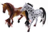 Toi-toys Speelset Kailey's Paard 9-delig Bruin/wit