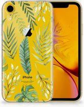 Apple iPhone Xr Uniek TPU Hoesje Leaves