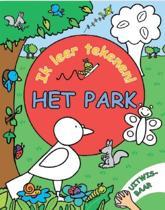 Ik leer tekenen Het park