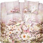 Cinderella Dekbedovertrekset 100% katoen munnar valley soft pink 2-persoons (200 x 220 cm + 2 kussenslopen 60x70cm)