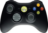 Draadloze Xbox 360 Controller Incl. Receiver voor Pc Windows -  Zwart