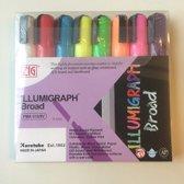 ZIG Illumigraph PMA-510 krijtmarker-set