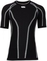 Canterbury iD Long Sleeve Top - Thermoshirt  - zwart - S-M