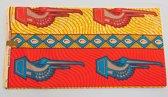 Mooi Afrikaanse stof met diverse kleuren (VBL15)