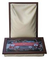 L-line by Jis Laptray/Schoottafel Morris Mini Cooper S - 32,5 x 43 cm