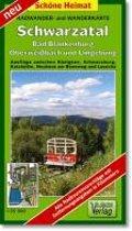 Schwarzatal, Bad Blankenburg, Oberweißbach und Umgebung 1 : 35 000