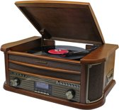 Soundmaster NR545 - Nostalgisch Muziek Center met DAB+ en bluetooth - bruin
