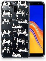 Samsung Galaxy J6 Plus (2018) Uniek TPU Hoesje Koetjes