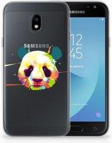 Samsung Galaxy J3 2017 TPU Hoesje Design Panda Color