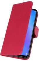 Huawei P Smart Plus Roze | bookstyle / book case/ wallet case Wallet Cases Hoes  | WN™