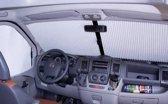 Vouwgordijn plissee voorruit grijs(F.Ducato-P.Boxer-C.Jumper v.a.6-2006)