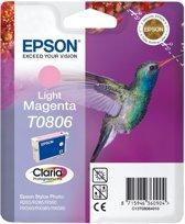 Epson T0806 - Inktcartridge / Licht Magenta
