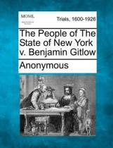 The People of the State of New York V. Benjamin Gitlow