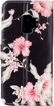 Let op type!! Voor Galaxy S9 Azalea patroon horizontale Flip lederen draagtas met houder & kaartsleuven & portemonnee