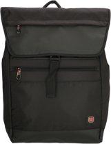 Enrico Benetti 47198 Uptown business laptop rugtas - Zwart