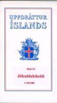 Topographische Karte Island 94 Jokuldalsheidi 1 : 100 000