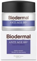 Biodermal Anti Age 60+ - Nachtcrème tegen huidveroudering - 50ml