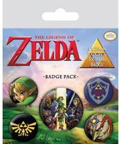 FANS The Legend Of Zelda - Badge Pack Buttons