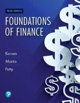 Mylab Finance with Pearson Etext -- Access Card -- For Foundations of Finance