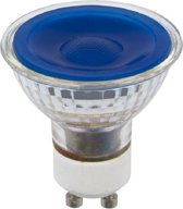 SPL reflectorlamp LED blauw 230V 5W (vervangt 50W) GU10 50mm