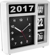 Table / Wall clock Flip white