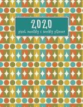 2020 Pixel Monthly and Weekly Planner