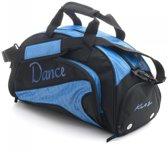 Katz Sporttas Dance Zwart Royal Blue
